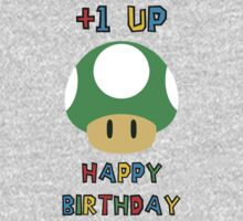 Happy Birthday - one UP Kids Tee