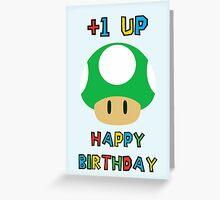 Happy Birthday - one UP Greeting Card