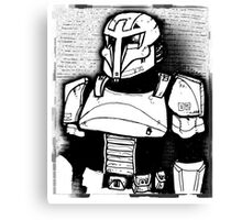 Concept Trooper Canvas Print