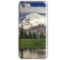 Mt Rainier in Washington iPhone Case/Skin