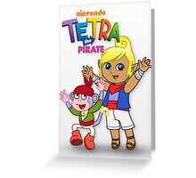 Tetra the Pirate Greeting Card