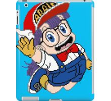 Arale - pixel art iPad Case/Skin