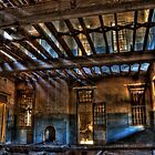 Take a Seat By The Fireplace..... Woogaroo - Abandoned Mental Asylum. by Damon Lancaster