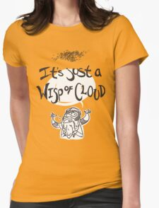 Wisp of Cloud Womens Fitted T-Shirt