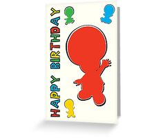 Happy Birthday - Toad Greeting Card