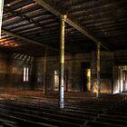 Communal Room - Abandoned Woogaroo Mental Asylum by Rachael Lancaster