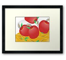 Daily Apple Framed Print