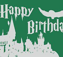 Happy Birthday - Slytherin by husavendaczek