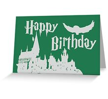 Happy Birthday - Slytherin Greeting Card