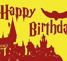 Happy Birthday - Gryffindor by husavendaczek