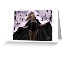 Black Canary Greeting Card