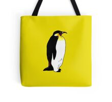 Emperor penguin illustration Tote Bag