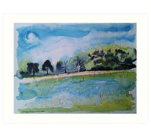 Summer Meadow Art Print