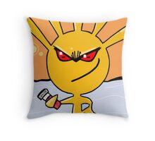 Remember i can give you cancer Throw Pillow