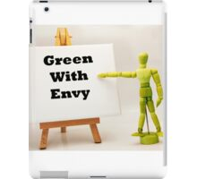 Green With Envy iPad Case/Skin