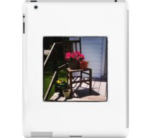 Container Garden Themed Photography iPad Case/Skin