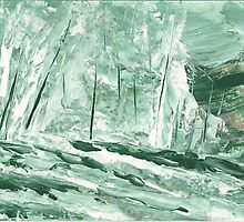 Icy Woodland by Ginger Lovellette