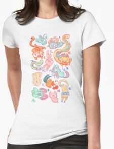 Chinese Animals of the Year Womens Fitted T-Shirt