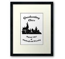 Hogwarts Graduating Framed Print