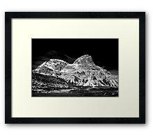 Lavaredo Three Peaks - a tour and a detour. Framed Print