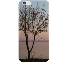 Soft, Pink Morning on the Lake Shore iPhone Case/Skin
