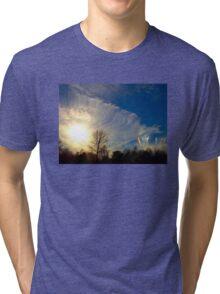 Sundog At Sunset Tri-blend T-Shirt