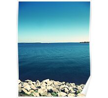 Rocky Shore - Lake Texoma Poster