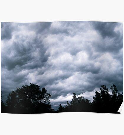 Good Heavens - Arkansas Thunderstorm Poster