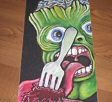 MONSTER SERIES! MUTE8 griptape by RobBennett