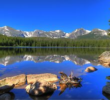 Bierstadt Lake in Rocky Mountain National Park by outcast1