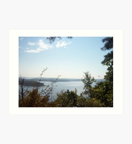 Beaver Lake, Arkansas Art Print