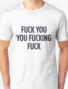 Fuck you shameless Lip T-shirt T-Shirt