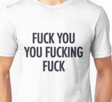 Fuck you shameless Lip T-shirt Unisex T-Shirt