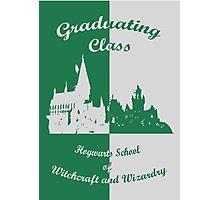 Hogwarts Graduating - Slytherin Photographic Print