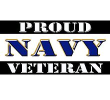 Proud Navy Veteran by Buckwhite