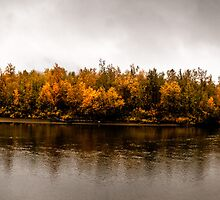 Autumn River by Gustav Nordlund