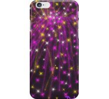 Purple Fireworks iPhone Case/Skin