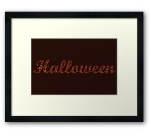 Halloween Framed Print