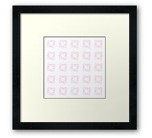 Pattern No 4 - for the ladies Framed Print