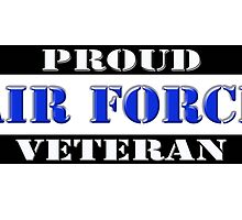 Proud Air Force Veteran by Buckwhite