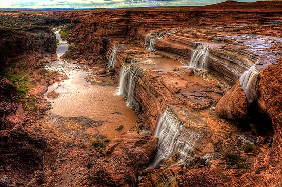 Grand Falls of Northern Arizona by Mike Olbinski
