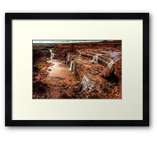 Grand Falls of Northern Arizona Framed Print