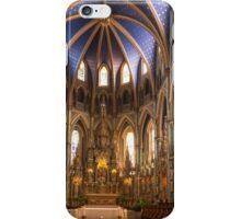Notre Dame Cathedral - Ottawa, Canada iPhone Case/Skin