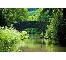 Bridge 57 Contrast  Photographic Print