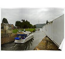 Fort Augustus Swing Bridge, Loch Ness, Scotland Poster