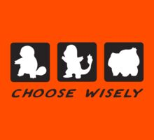 Choose wisely Kids Clothes
