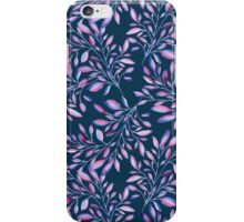 Colored branches iPhone Case/Skin