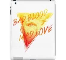 Bad Blood Mad Love iPad Case/Skin