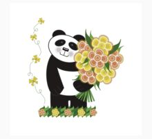 With Love Panda One Piece - Short Sleeve