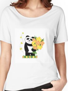 With Love Panda Women's Relaxed Fit T-Shirt